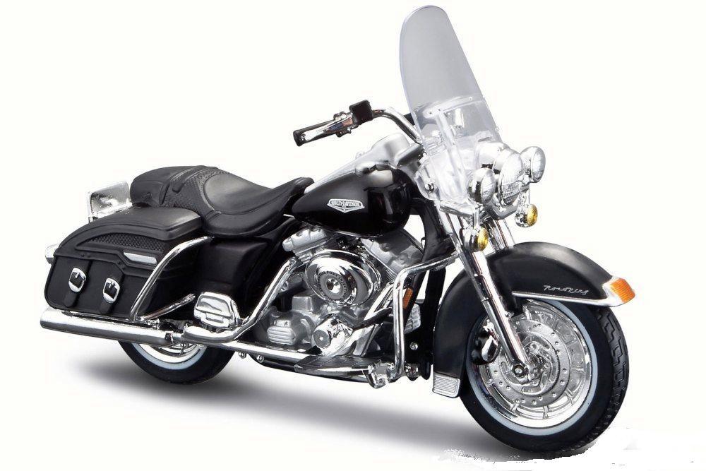 1:24 Motorrad Maisto Harley-Davidson 1936 El Knucklehead schwarz black