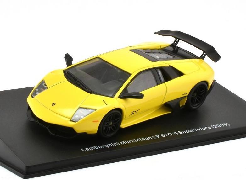 Lamborghini Murciélago LP 670-4 Superveloce 2009 Yellow LAM003  ALTAYA 1:43 New!
