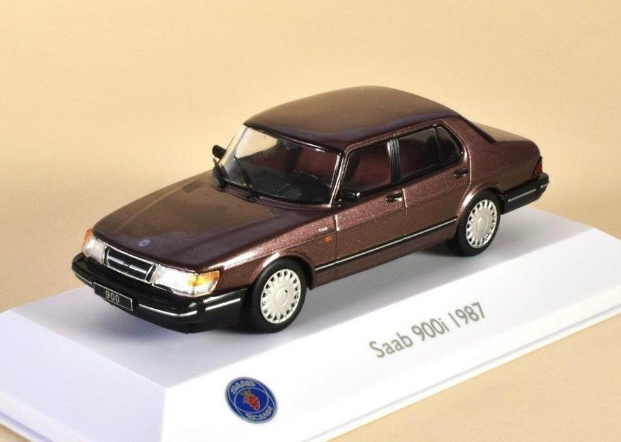 Saab 99 Turbo Combi Coupe Black 1977 3898003 ATLAS 1:43 New in a box!